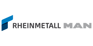 Rheinmetall Man Military Vehicles (logo)
